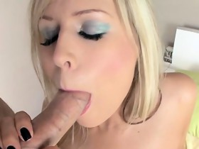 Heaven blow job pleasuring