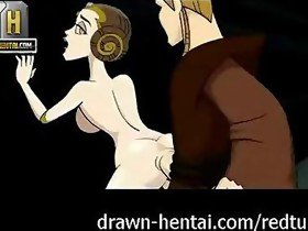Star Wars Porn - Padme can't live without anal