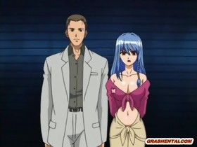 Captive anime with bigtits asslicked and fuck