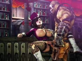 Borderlands 3D Manga Mad Moxxi getting fucked