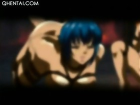 Naked anime redhead temptress sucking lustful..